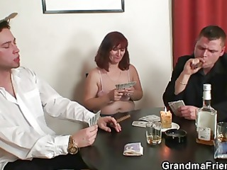 undress poker leads to three-some