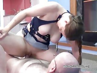 older whore natasha getting drilled