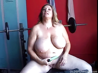 marvelous obese amateur milf has three-some