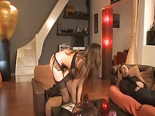 french maid lola bruna analised by her boss a34