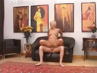 blondie aged having snatch fisted hard