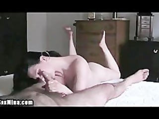 mature bitch strokes her mans penis