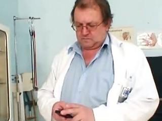 large tits chunky mama rosana gyno doctor scrutiny