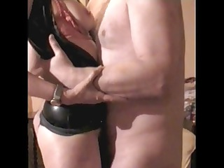 mrs b latex 8 fuck titslap and cook jerking