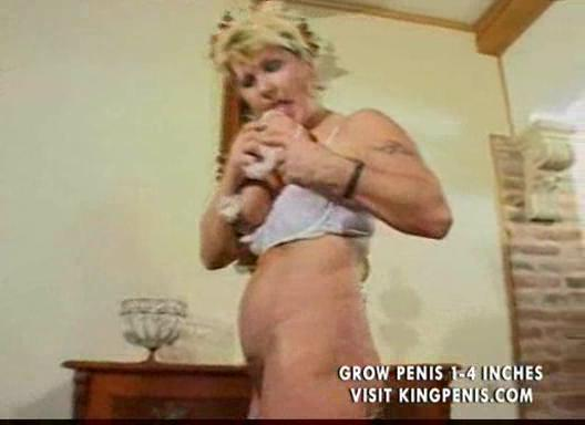 hirsute breasty older milf undresses and toys