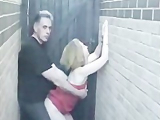 non-professional sex in alley