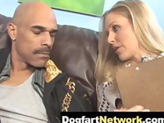hawt cougar julia ann takes a huge dark pecker