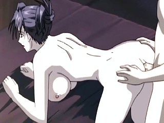 hentai milf hottie acquires a cock in her dark