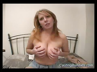 casting a busty sexy bunny sex