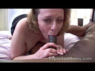 busty mommy in dilettante interracial episode