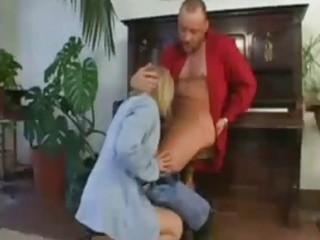 aged intimate teacher milf deepthroat choking