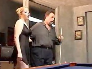 hubby watches golden-haired wife acquire screwed