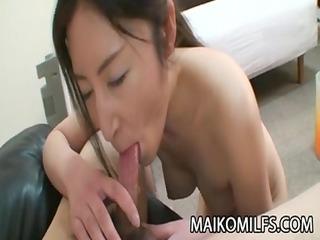 chiho sakurai - oriental wife curly cum-hole