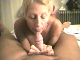 experienced milf sucks her mans cock