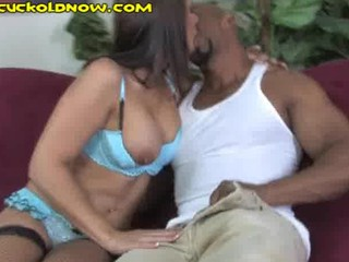 cuckold spying on wifes interracial