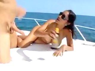 priya rai fucked on a boat .