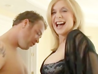 gilf nina hartley acquires an anal
