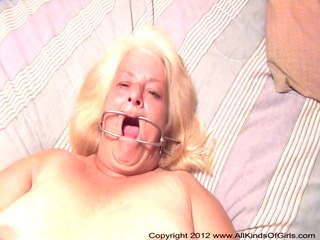 pov anal 83 year old granny wanda gets fastened