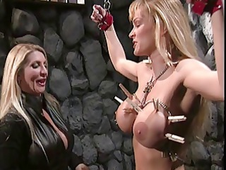 large billibongs blond teases her hawt slaves
