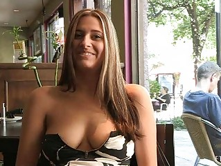 patricia hot milf with sunglasses flashing milk
