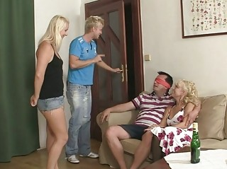 mamma seduces his gf into threesome