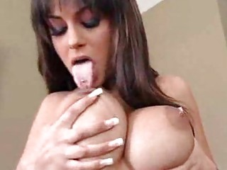 milfs with biggest scoops receive a sloppy titty