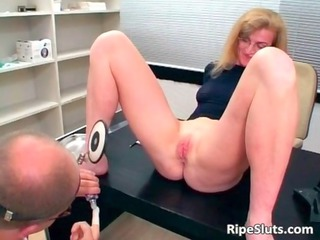 lustful aged whore acquires throat and moist