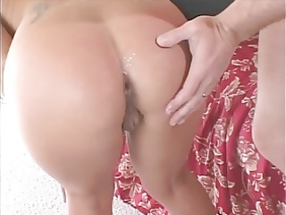 hawt unfathomable throat oriental milf with pig