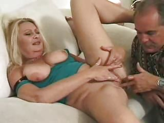 older golden-haired gets cunt lickedass drilled