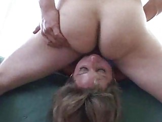 fat milf shows how its done