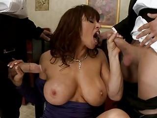 devon michaels lusty mama doing a throat job