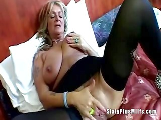 large tit granny toying love tunnel
