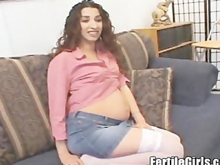 preggy hormonal mother horny for pounder