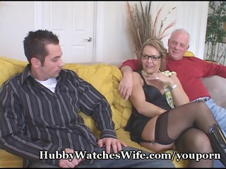 older honey watched by hubby