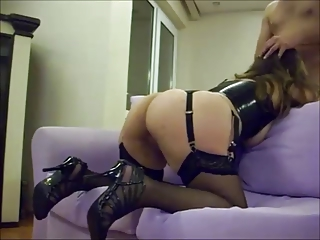 ass cheating wife group-fucked on homemade video