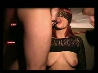 bukkake cum slut wife in the swingers club