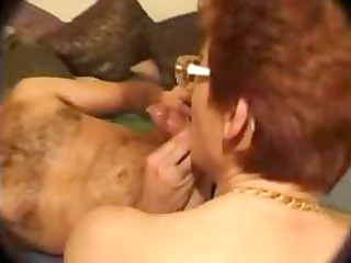 horny curly french mama ravaged by her 1 sons