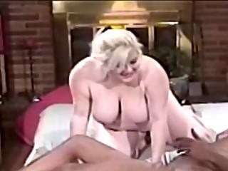 chubby mother i blond blowing big dark jock