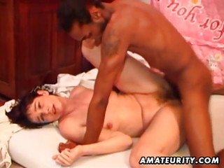 non-professional wife anal and facial with a