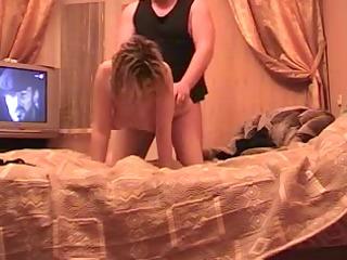 mature amateur russian couple hawt fucking on