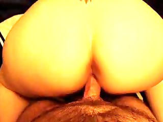 big arse wife acquires doggystyled and jizzed on.