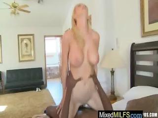 sexy milfs get fucked hard by darksome jocks