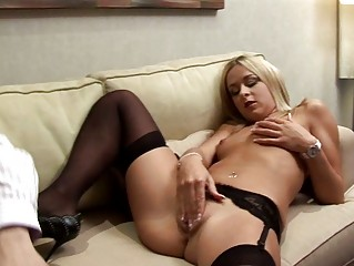 blond european chick desires mature schlong