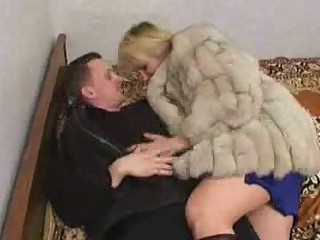 russian lad fucking a older in fur
