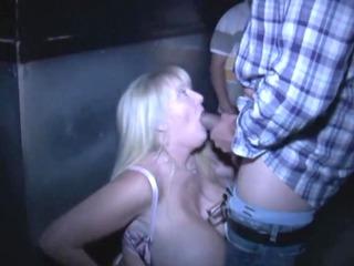 kayla- white mama at porn theater