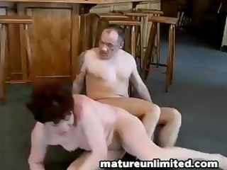 fat mama receives her crave and gets a nice hard