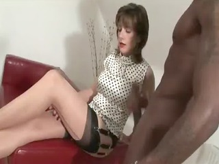 interracial older honey gives handjob