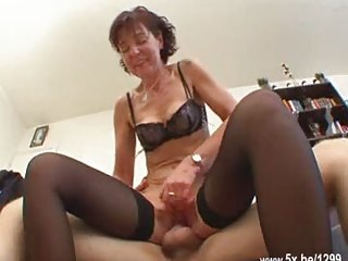 french aged sodomized in nylons