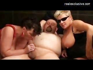 swingers party with aged cum sluts