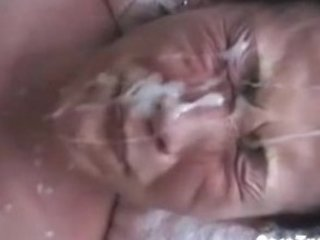 oriental wife gets creamed